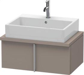 Vero Vanity Unit For Console Compact, Basalt Matt (decor)