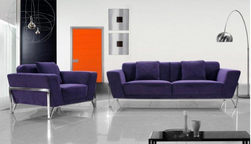 Additional Divani Casa Vogue Modern Fabric Sofa Set