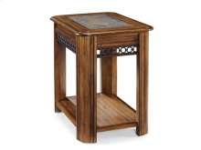 Sliding Top Chairside Table