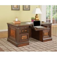 Corsica Double Pedestal Executive Desk Product Image
