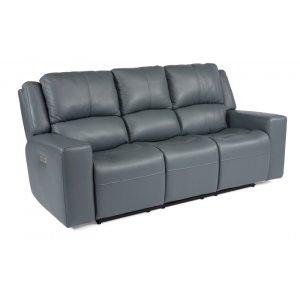 FlexsteelNelson Power Reclining Sofa with Power Headrests