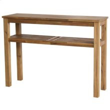 Tiburon Console with Shelf KD, Amber