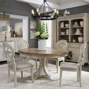 Liberty Furniture Industries5 Piece Pedestal Table Set