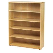5 Shelf Bookcase : Natural