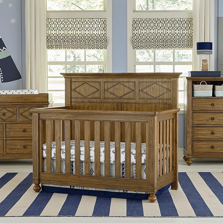 Merveilleux Brookdale 4 In 1 Convertible Crib