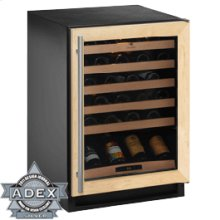 "Overlay Frame Field reversible 2000 Series / 24"" Wine Captain® / Single Zone Convection Cooling System"