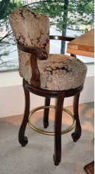 Strasbourg Bar Height Dining Stool - with Arms Product Image