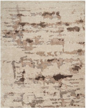 CHRISTOPHER GUY WOOL COLLECTION CGW05 NATURAL ROUND RUG 6' x 6'
