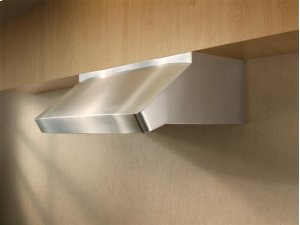 "Centro Poco - 36"" Stainless Steel Pro-Style Range Hood with internal/external blower options"