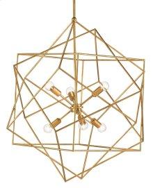 Aerial Gold Chandelier