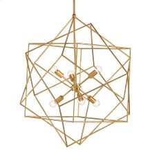 Aerial Gold Chandelier