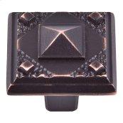 Craftsman Knob 1 1/4 Inch - Venetian Bronze