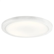 Zeo Collection Zeo 3000K LED 13 Inch round Flushmount WH