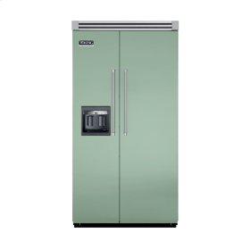 """Sage 42"""" Side-by-Side Refrigerator/Freezer with Dispenser - VISB (Integrated Installation)"""