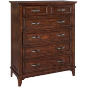 Star Valley Six Drawer Chest Product Image
