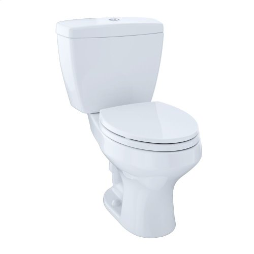 Rowan™ Two-Piece Toilet, 1.6 GPF & 1.0 GPF, Elongated Bowl - Cotton
