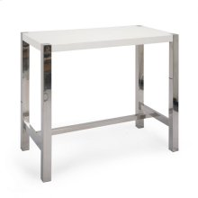 Riva Bar Table White