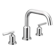 Gibson chrome two-handle roman tub faucet