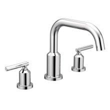 Gibson chrome two-handle roman tub faucet