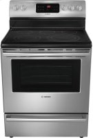 """30"""" Electric Freestanding Range 500 Series - Stainless Steel HES5053U Product Image"""