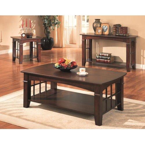Abernathy Merlot Occasional Table Set of Three