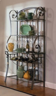 Bronze Strap Bakers Rack