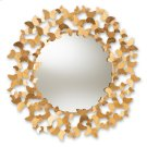 Baxton Studio Soleil Modern and Contemporary Antique Gold Finished Butterfly Accent Wall Mirror Product Image