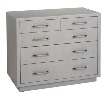 Taylor 5 Drawer Chest - Grey