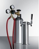 """Dual Tap System With Nitrogen Tank To Serve Cold Brew """"flat"""" Iced Coffee From Most Beer Dispensers Product Image"""