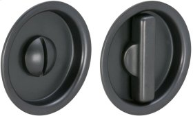 Sliding Pocket Door Mortise Lock in (US10B Oil-rubbed Bronze, Lacquered)