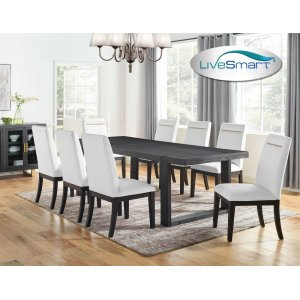 "Steve Silver Co.Yves Dining Table Top 40""x77""x95"" w/18"" leaf"