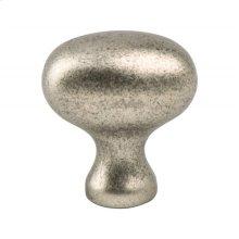 Advantage Plus Three Weathered Nickel Oval Knob