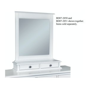 JOHN THOMAS FURNITUREMirror in Beach White