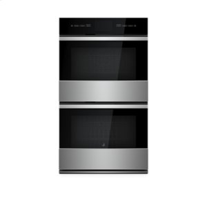 """JennairNOIR 30"""" Double Wall Oven with V2 Vertical Dual-Fan Convection System"""