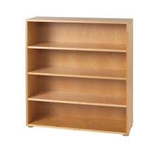 4 Shelf Bookcase : Natural