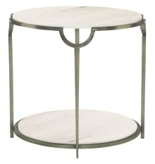 Morello Round End Table