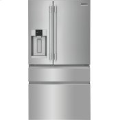 Professional 21.8 Cu. Ft. Counter-Depth 4-Door French Door Refrigerator