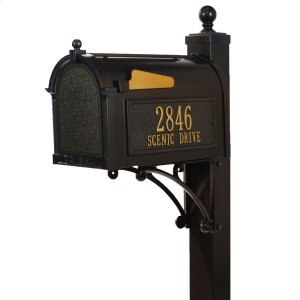 Deluxe Capitol Mailbox Package - Bronze Product Image
