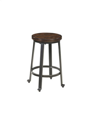 "Stool-24""-Challiman Rustic Brown"