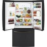 Ge(r) Energy Star(r) 17.5 Cu. Ft. Counter-Depth French-Door Refrigerator
