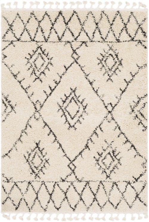 "Berber Shag BBE-2305 6'7"" x 9'"