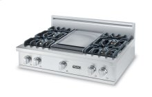 "36"" 5 Series Gas Rangetop, Natural Gas"