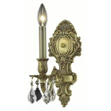 9601 Monarch Collection Wall Sconce French Gold Finish