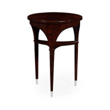 Black Eucalyptus Lamp Table