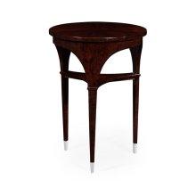 Black Eucalyptus Lamp Table