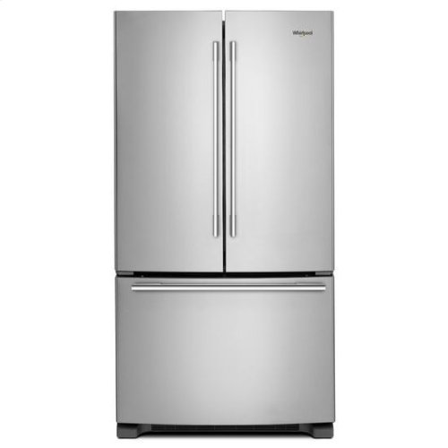 Whirlpool® 33-inch Wide French Door Refrigerator - 22 cu. ft. - Fingerprint Resistant Stainless Steel