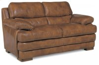 Dylan Leather Loveseat without Nailhead Trim Product Image