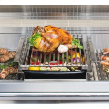 GRILL MOUNTED COOKING POD