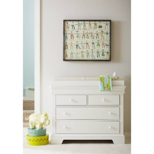 Teaberry Lane Stardust Single Dresser