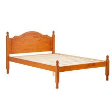 Reston Panel Bed, Full Honey Pine
